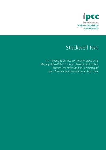 IPCC - Stockwell two