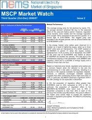 MSCP Market Watch Third Quarter (Oct-Dec) 2006/07 Issue 2 - EMC