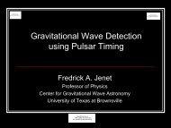 Gravitational Wave Detection using Pulsar Timing