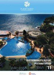 sustainability report pestana group - Pestana Hotels & Resorts