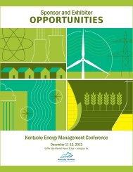 OPPORTUNITIES - Kentucky Chamber of Commerce