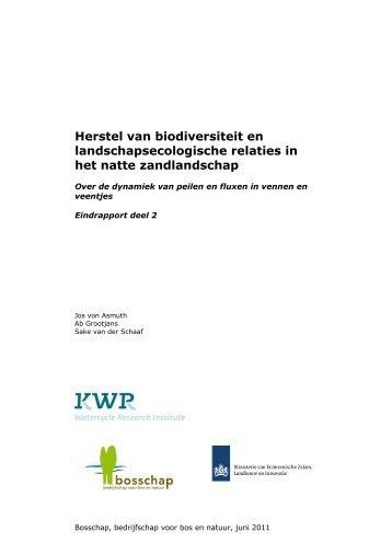 Von Asmuth, J. R., Grootjans, A. P. and Van der Schaaf, S., 2011