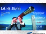 Taking Charge 2011 Brochure - MyUM
