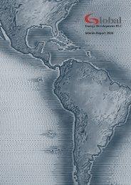 Interim Report 2004 Energy Development PLC - Global Energy ...
