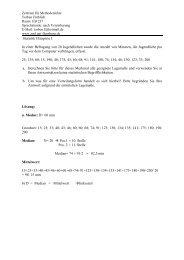 4) Aufgaben Lagemaße 10.05.12 - Zml.uni-flensburg.de