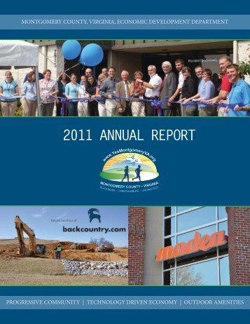 2011 annual report - Montgomery County Economic Development
