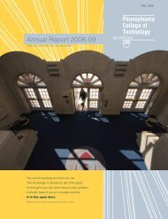 annual Report 2008-09 - Pennsylvania College of Technology
