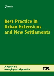 Best Practice In Urban Extensions And New Settlements Contents