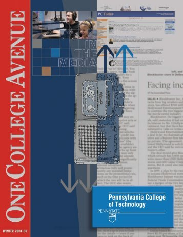 393.4 Winter 04-05.indd - Pennsylvania College of Technology