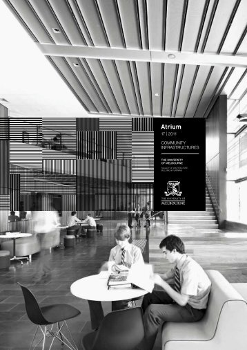 Atrium - Faculty of Architecture, Building and Planning - The ...
