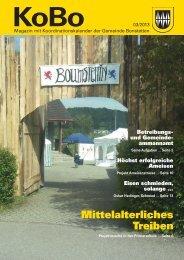 KOBO_03_2013 [PDF, 2.00 MB] - Gemeinde Bonstetten