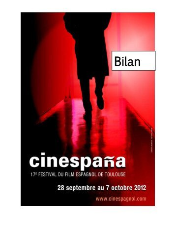 Téléchargez le Bilan 2012 - Cinespaña