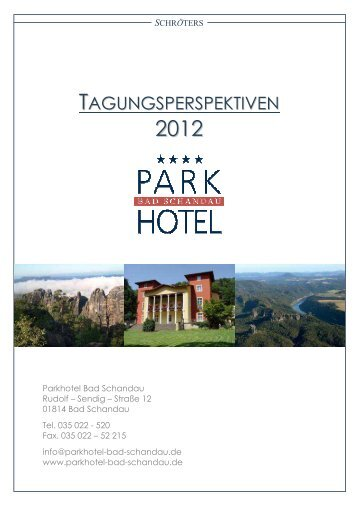 Download unserer Tagungsmappe 2012 (PDF) - Parkhotel Bad ...