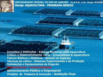 Gerenciamento Público e Empresarial - Instituto de Biologia da UFRJ