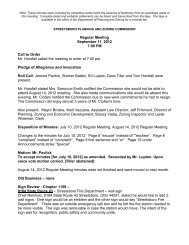 Regular Meeting September 11, 2012 7:00 PM Call to ... - Streetsboro