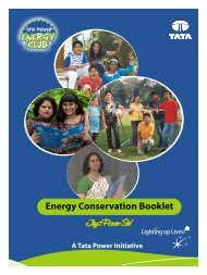 Energy Conservation Booklet - Tata Power