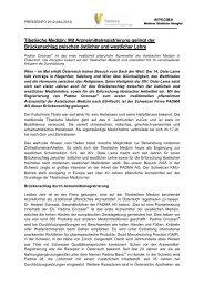 Tibetische Medizin: Mit Arzneimittelregistrierung ... - PADMA FORUM