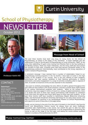 October 2012.pdf - Health Sciences - Curtin University