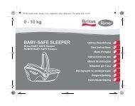 BABY-SAFE SLEEPER 0 - 10 kg - Britax Römer