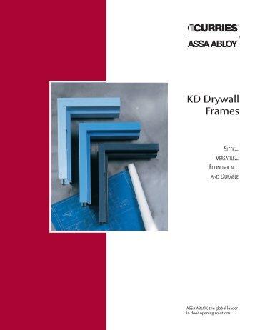 KD Drywall Frames