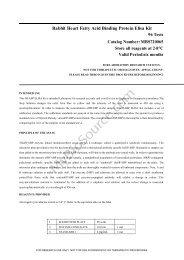 Rabbit Heart Fatty Acid Binding Protein Elisa Kit - MyBioSource