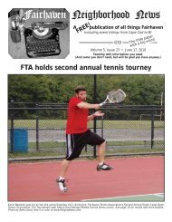 to download a copy of the 06-17-10 issue/FTA Tennis Tourney.