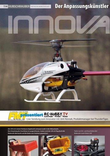 Testbericht aus FMT - Thunder Tiger TV