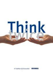 Think Twice Tandem catalogue - Bromma AB
