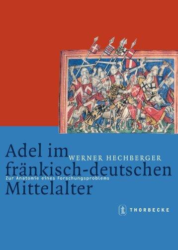 Adel im fränkisch-deutschen Mittelalter