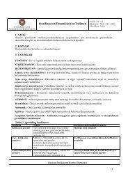 Sterilizasyon/Dezenfeksiyon Talimatı - İ.Ü. Cerrahpaşa Tıp Fakültesi
