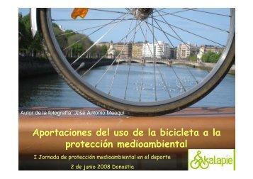Kalapie bici-medioambiente