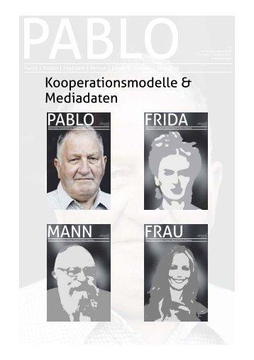 FRIDA # 1 PABLO # 1 FRAU # 1 MANN # 1 - Pablo Magazin