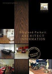 ARCHITECT INFORMATION - Paris Espace Eco
