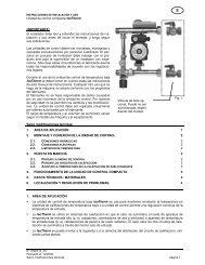Unidad de control compacta IsoTherm ... - Watts Industries