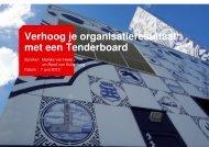 Verhoog je organisatieresultaat met een Tenderboard - Pianoo