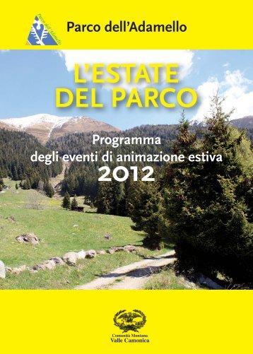 ESTATE PARCO 2012.indd - Parco dell'Adamello