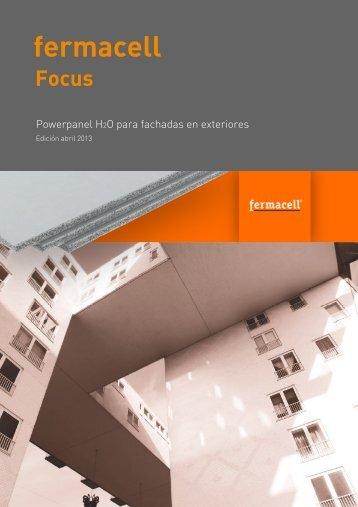 Fermacell Focus Powerpanel H2O para fachadas en exteriores