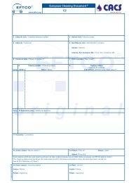 European Cleaning Document® CZ - GS SOKOTRANS sro