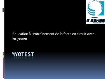 Fabien Bertrand - myotest