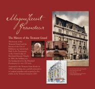 You can read more about the Tremont Grand's architecture and ...