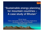 """Sustainable energy planning for mountain countries ... - Ev-K2-CNR"