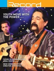 YOUTH MOVE WITH THE POWERpage 9 - RECORD.net.au