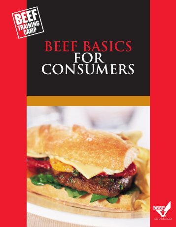 Beef Basics for Consumers - BeefRetail.org