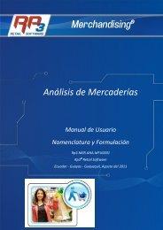 Análisis de Mercaderías Merchandising® - RP3 Retail Software
