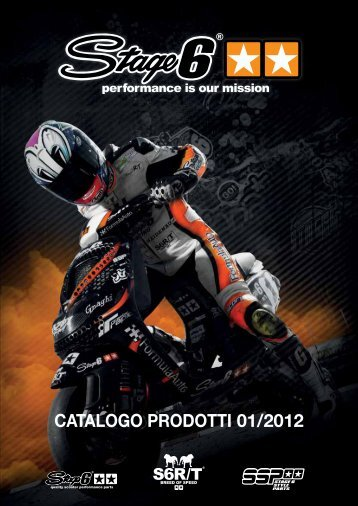 Catalogo Stage6 2012 - Ricambi Piaggio, Vespa, Yamaha, Honda ...