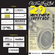 an der Kirchgasse · 11. bis 12. Mai 2012 - Olt Time Jazz Club