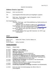 Oldtimer Classics Lage 2012 - Oldtimer-Park Lippe