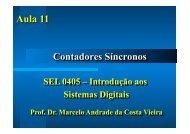 Aula 11 - Contadores Sincronos.SEL405 - Iris.sel.eesc.sc.usp.br