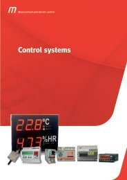 Metartec e3's Control Systems