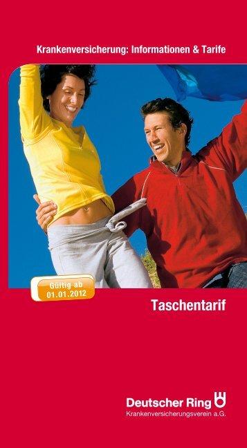 Taschentarif - vmc-metzner.de